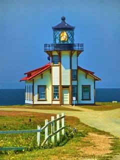 Point Cabrillo Lighthouse Mobile Wallpaper