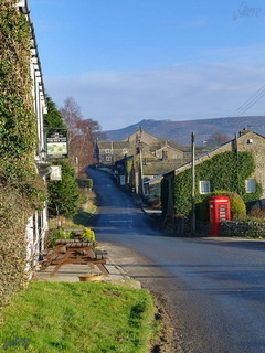 Yorkshire Dales Village Mobile Wallpaper