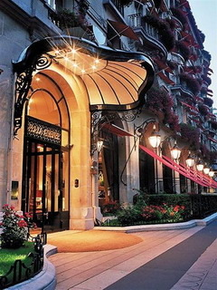 Hotel Plaza Athenee Paris Mobile Wallpaper