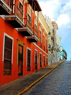 Colorful Old San Juan Puerto Rico Mobile Wallpaper