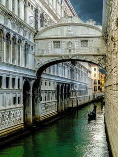 Ponte Dei Sospiri Venice Italy Mobile Wallpaper