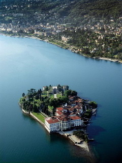 Isola Bella Stresa Lombardy Italy Mobile Wallpaper