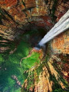Angel Waterfalls Mobile Wallpaper
