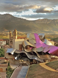 Marques De Riscal In La Rioja Spain Mobile Wallpaper