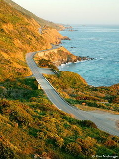 Highway Big Sur California Mobile Wallpaper