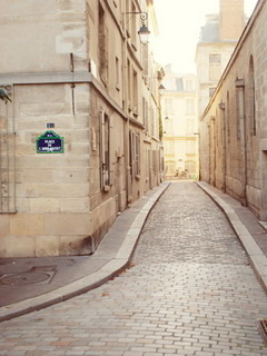 Paris City Street Mobile Wallpaper