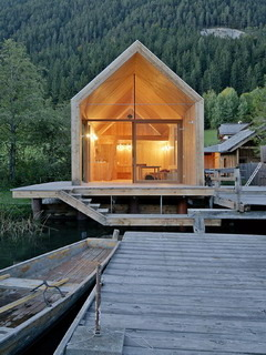 Cabin Room And Dock Mobile Wallpaper