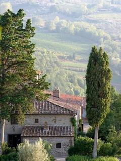 Valley Vignamaggio Chianti In Italy Mobile Wallpaper