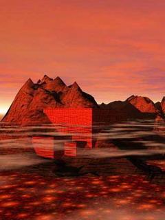 Red Sea Island Mobile Wallpaper