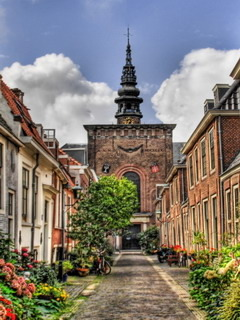 Street In Holland Mobile Wallpaper