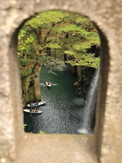 Takachiho Gorge In Miyazaki Prefecture Mobile Wallpaper