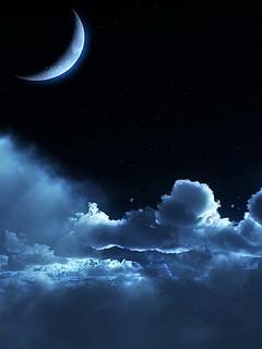 Beautiful Night Sky  Mobile Wallpaper