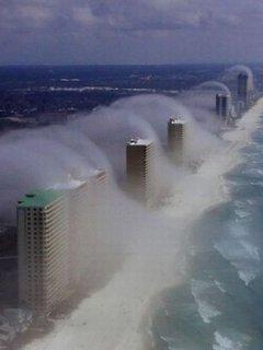 Sandy Flood Mobile Wallpaper