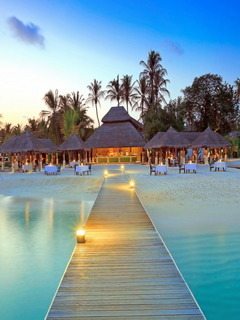 Beautiful Resort & Clean View Mobile Wallpaper