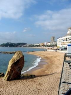Lovely Beach On Spain Mobile Wallpaper