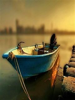 Lovely Boat IPhone Wallpaper Mobile Wallpaper