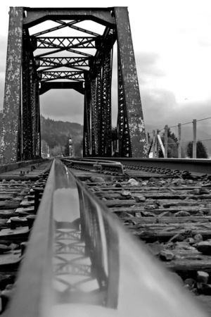 Gray Train Track IPhone Wallpaper Mobile Wallpaper