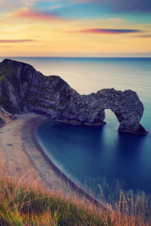 Durdle Door Rocks Nature IPhone Wallpaper Mobile Wallpaper