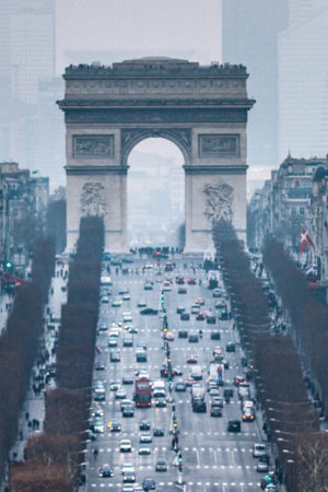 Traffic On Bridge IPhone Wallpaper Mobile Wallpaper