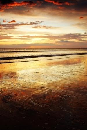 Lovely Beauty Sea Sunset IPhone Wallpaper Mobile Wallpaper