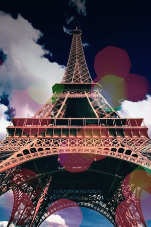 Eiffel Dream IPhone Wallpaper Mobile Wallpaper