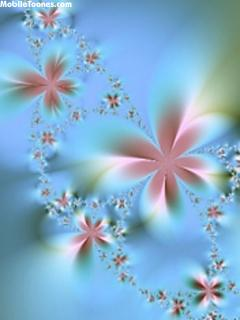 Velvet Flower Mobile Wallpaper