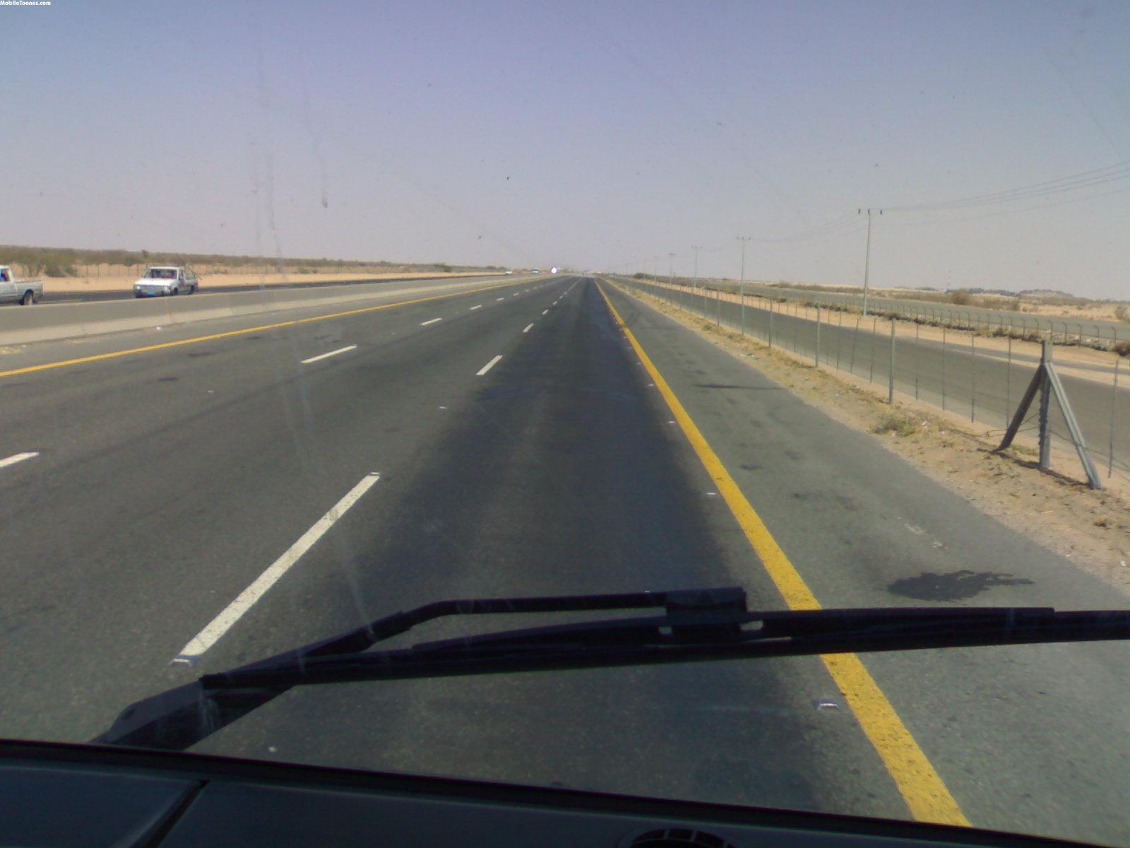 Saudi Arabia Road Mobile Wallpaper