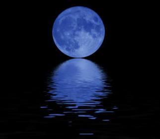 A Blue Moon Mobile Wallpaper
