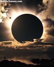 Black Sun Mobile Wallpaper