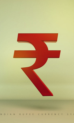 Indian Rupee Currency Symbol Mobile Wallpaper