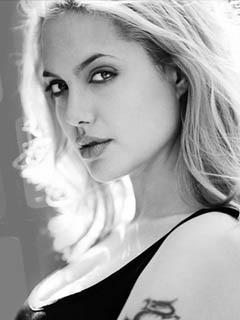 Angelina Jolie Mobile Wallpaper