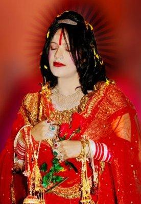 Mamtamai Shri Radhe Maa Mobile Wallpaper