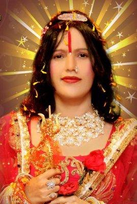 Param Shradhey Shri Radhe Maa - Jai Mata Di Mobile Wallpaper