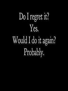Do I Regret It Mobile Wallpaper