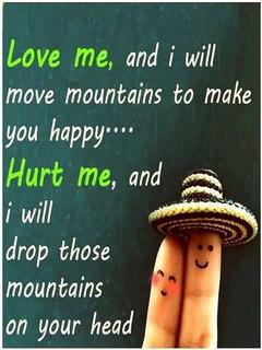 Love Me Hurt Me Mobile Wallpaper