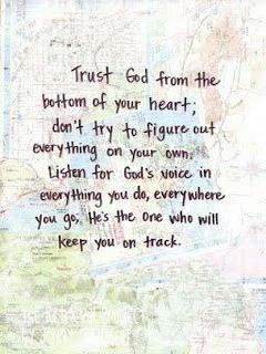 Trust God Mobile Wallpaper