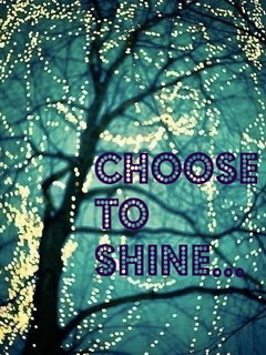 Choose To Shine Mobile Wallpaper