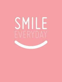 Smile Everyday Mobile Wallpaper