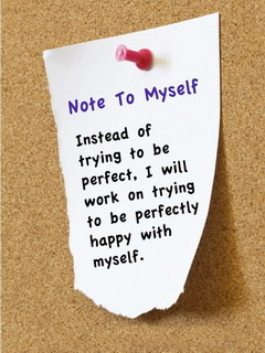 Note To Myself Mobile Wallpaper
