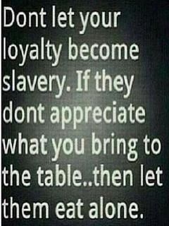 Loyalty Become Slavery Mobile Wallpaper