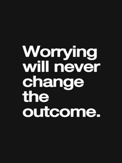 Worrying Will Never Change Mobile Wallpaper