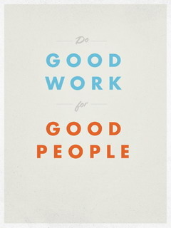 Do Good Work Mobile Wallpaper