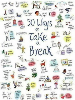 50 Ways Take Break Mobile Wallpaper