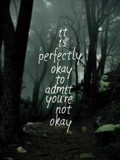 Perfectly Okay Admit Mobile Wallpaper