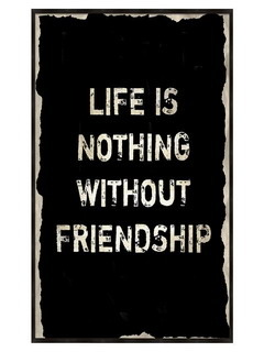 Nothing Without Friendship Mobile Wallpaper