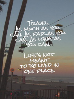 Travel As Much As You Can Mobile Wallpaper