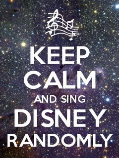 Keep Calm Disney Randomly  Mobile Wallpaper