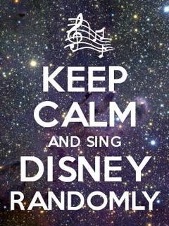 Keep Calm Disney Randomly Mobile Wallpaper
