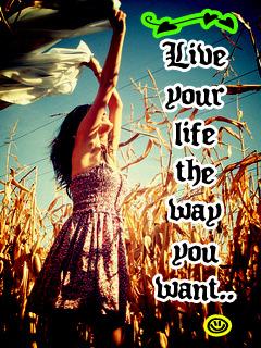 Live Ur Life Mobile Wallpaper