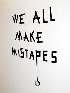 Make Mistakes Mobile Wallpaper